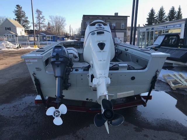 2009 MirroCraft 1875 Aggressor EXP in Superior, Wisconsin