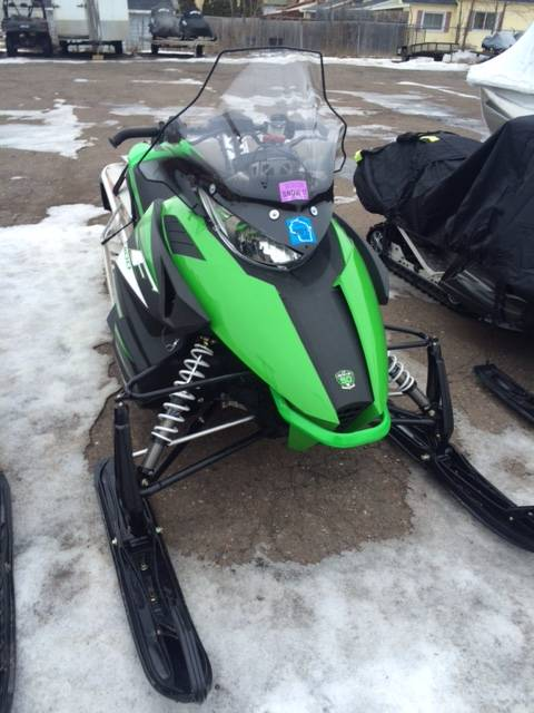 2012 Arctic Cat F 1100 LXR in Superior, Wisconsin