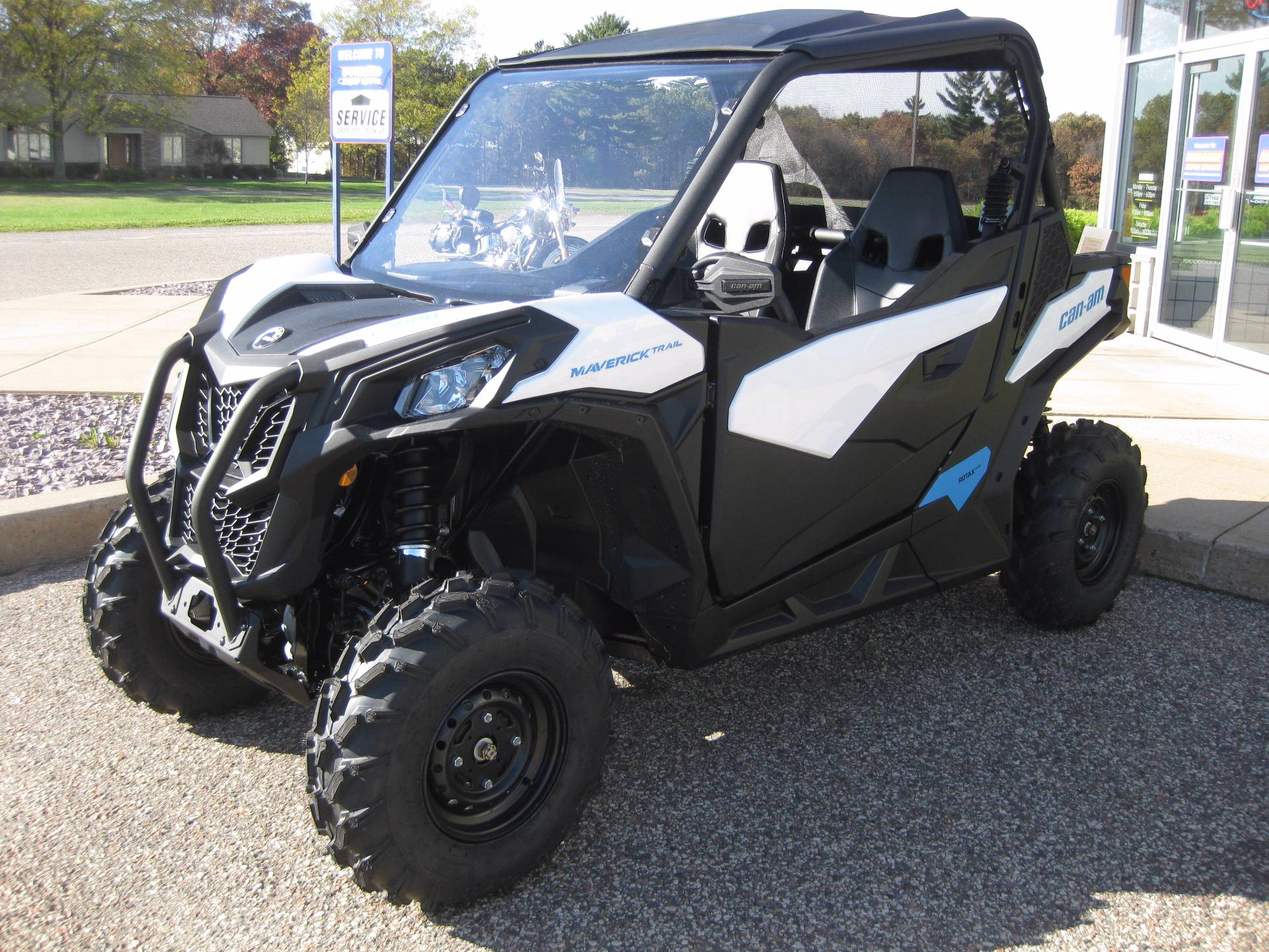 New 2018 Can Am Maverick Trail 1000 Utility Vehicles in Wisconsin