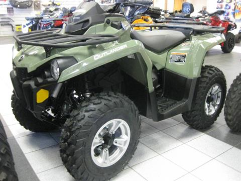 2018 Can-Am Outlander DPS 570 in Wisconsin Rapids, Wisconsin