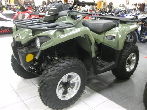 2018 Can-Am Outlander DPS 450 in Wisconsin Rapids, Wisconsin