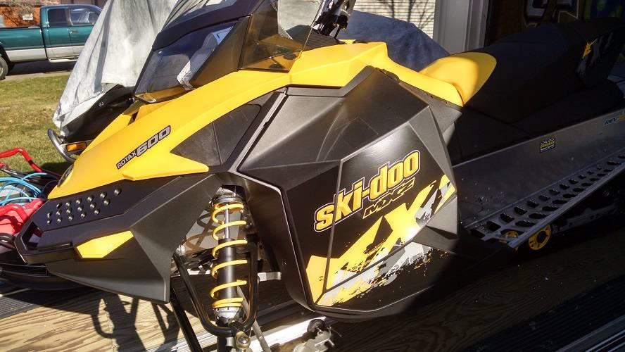 2010 Ski-Doo MXZ 600 in Wisconsin Rapids, Wisconsin