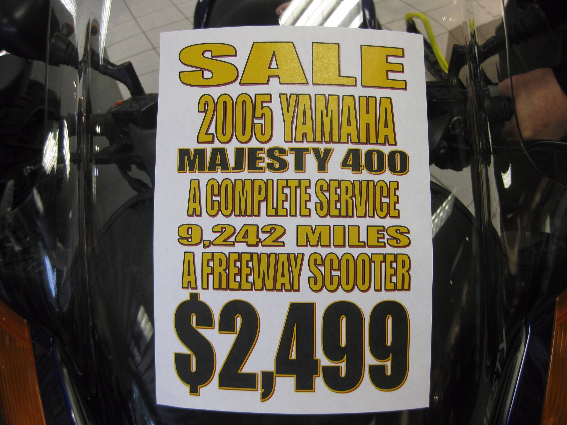 2005 Yamaha Majesty 400 in Wisconsin Rapids, Wisconsin