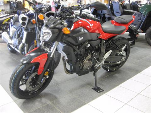 2017 Yamaha FZ-07 in Wisconsin Rapids, Wisconsin