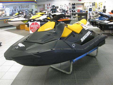 2018 Sea-Doo SPARK 3up 900 H.O. ACE iBR & Convenience Package Plus in Wisconsin Rapids, Wisconsin