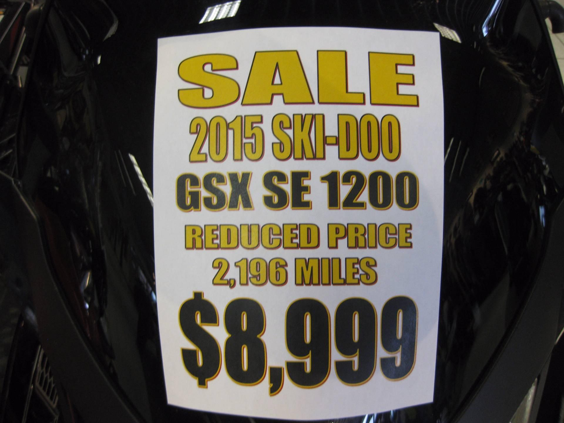 2015 Ski-Doo Renegade GSX SE 1200 in Wisconsin Rapids, Wisconsin