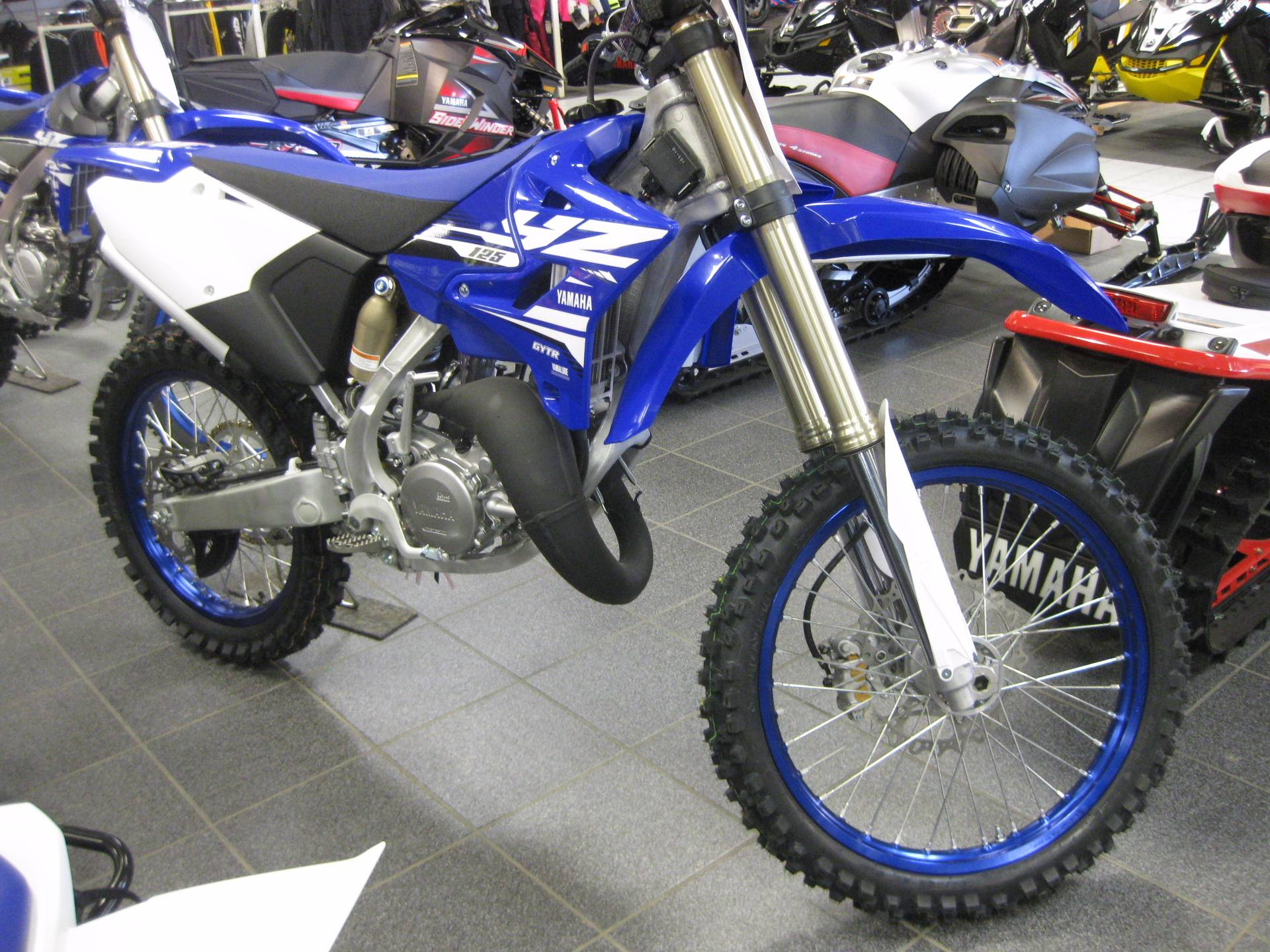 New 2018 yamaha yz125 motorcycles in wisconsin rapids wi for Yamaha installment financing