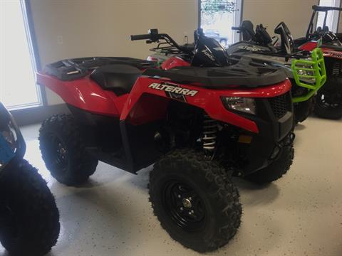 2018 Textron Off Road ALTERRA 700 RED in Mansfield, Pennsylvania