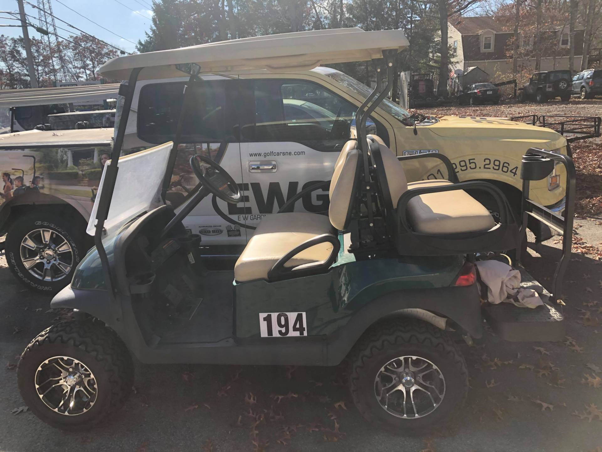 2014 Club Car Precedent in Exeter, Rhode Island