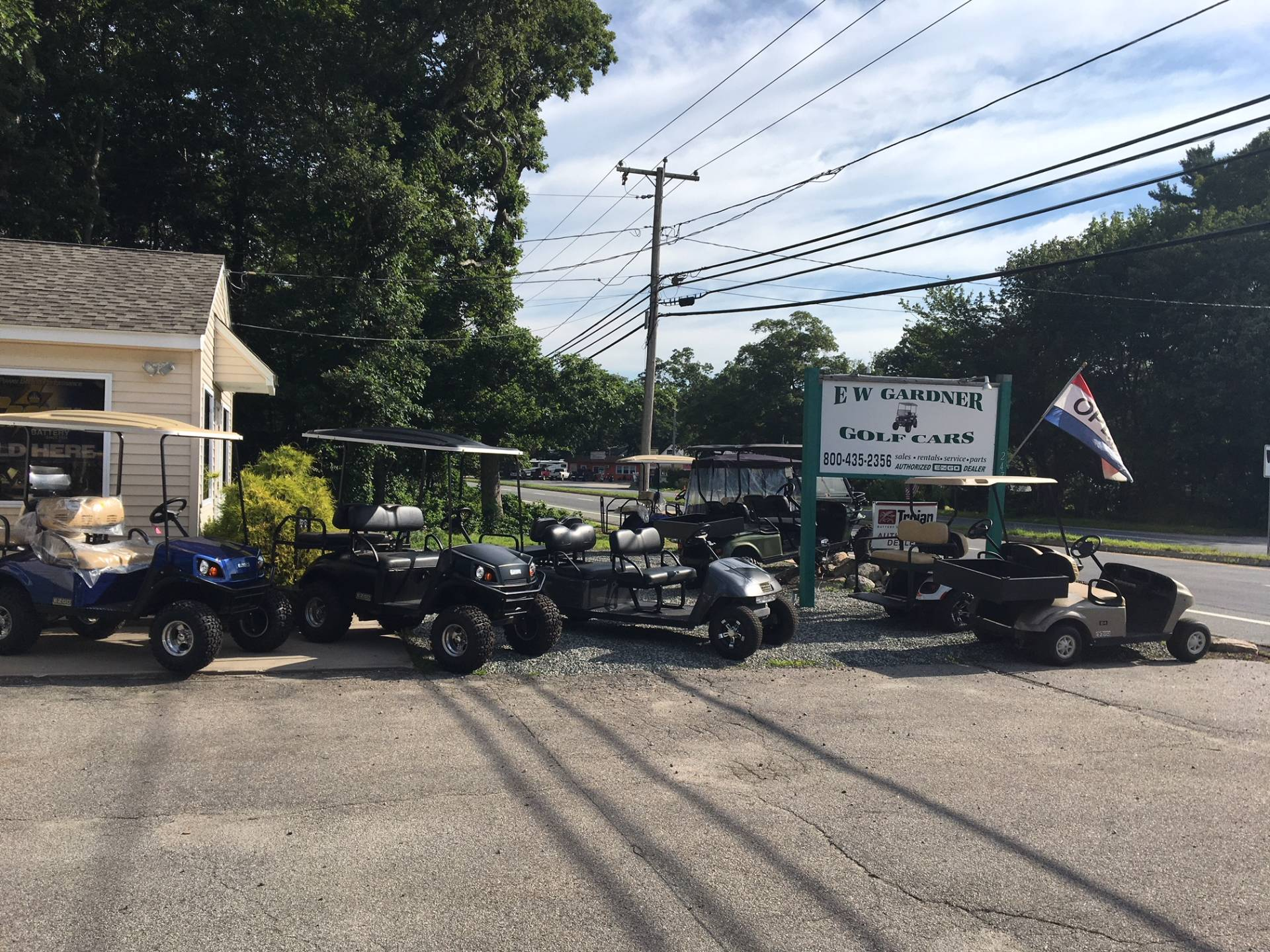 2019 E-Z-Go TXT Valor Gasoline in Exeter, Rhode Island - Photo 11