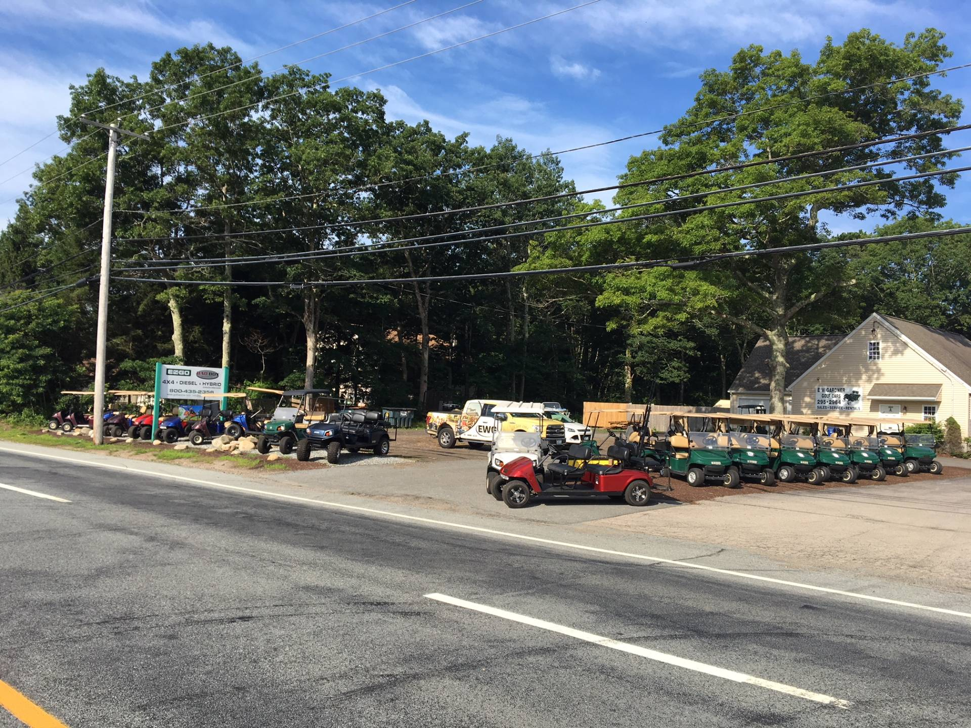 2019 E-Z-Go TXT Valor Gasoline in Exeter, Rhode Island - Photo 12