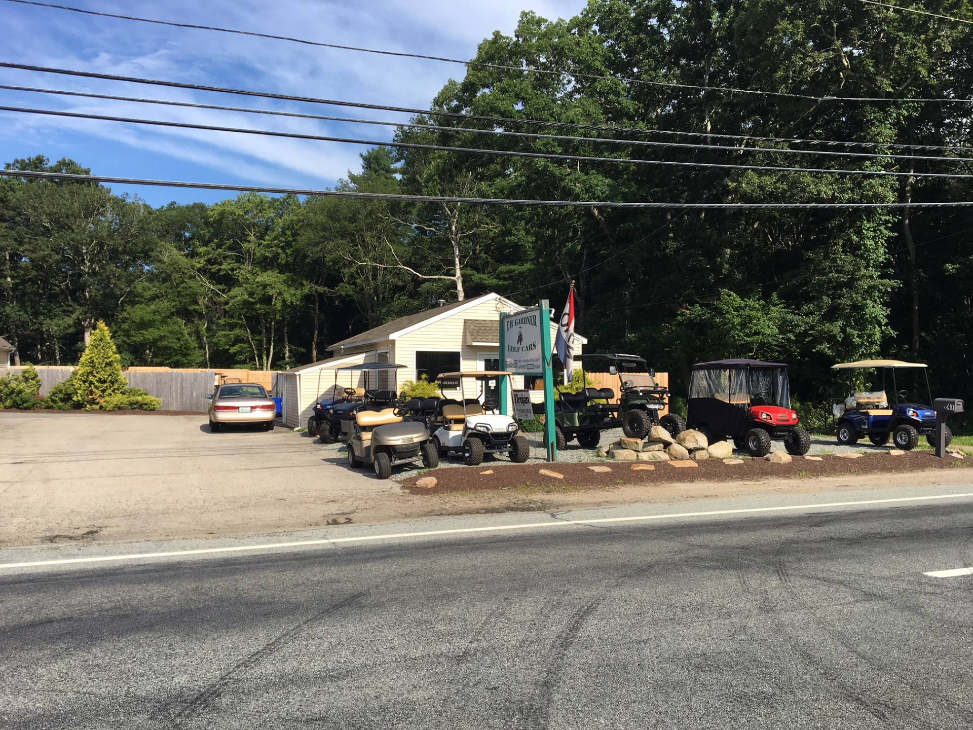 2019 E-Z-Go TXT Valor Gasoline in Exeter, Rhode Island - Photo 13