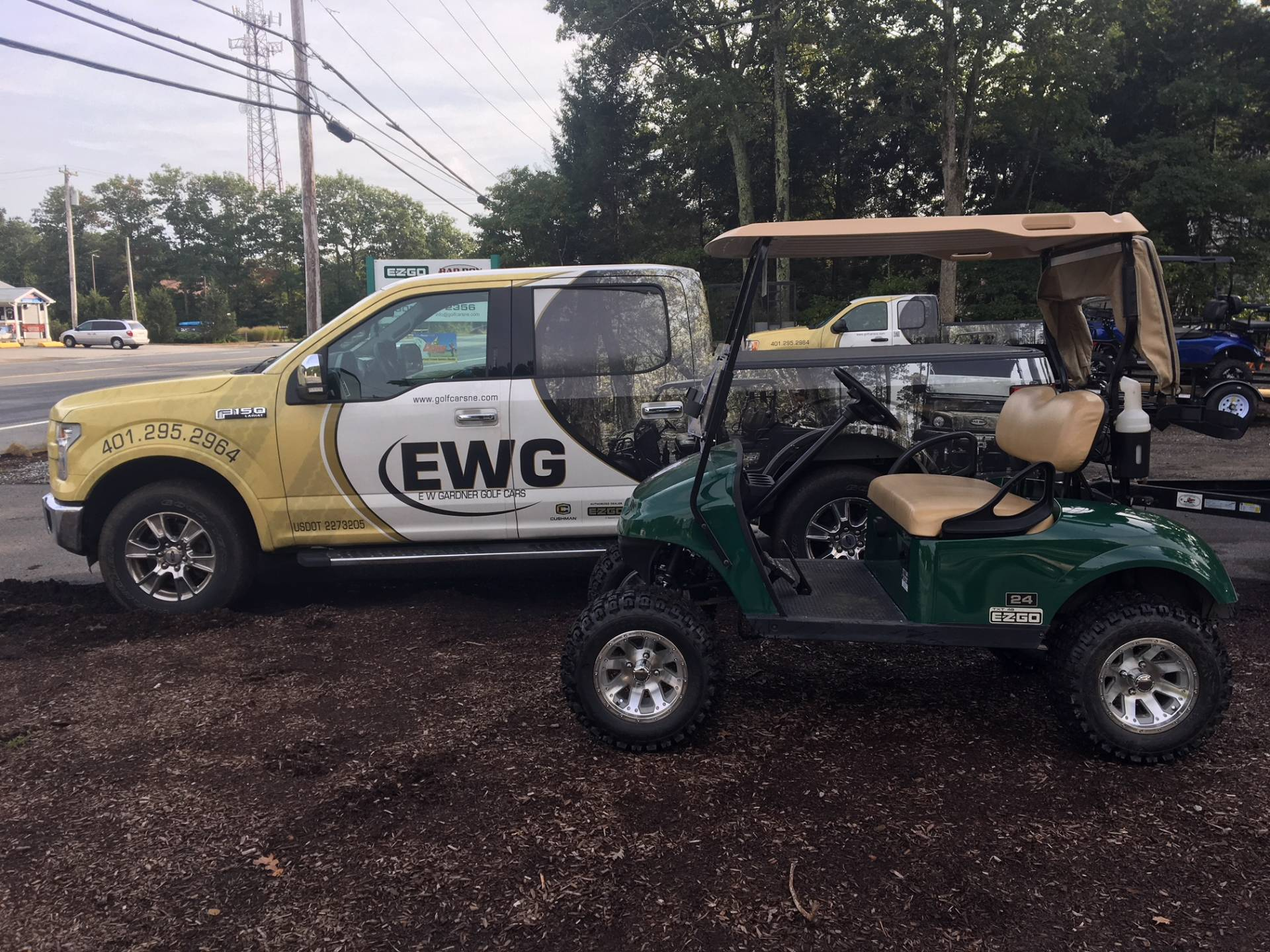 2015 E-Z-Go Freedom TXT Electric in Exeter, Rhode Island