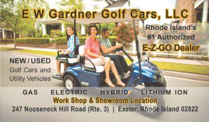 2015 E-Z-Go Shuttle 2 + 2 TXT Electric in Exeter, Rhode Island - Photo 9