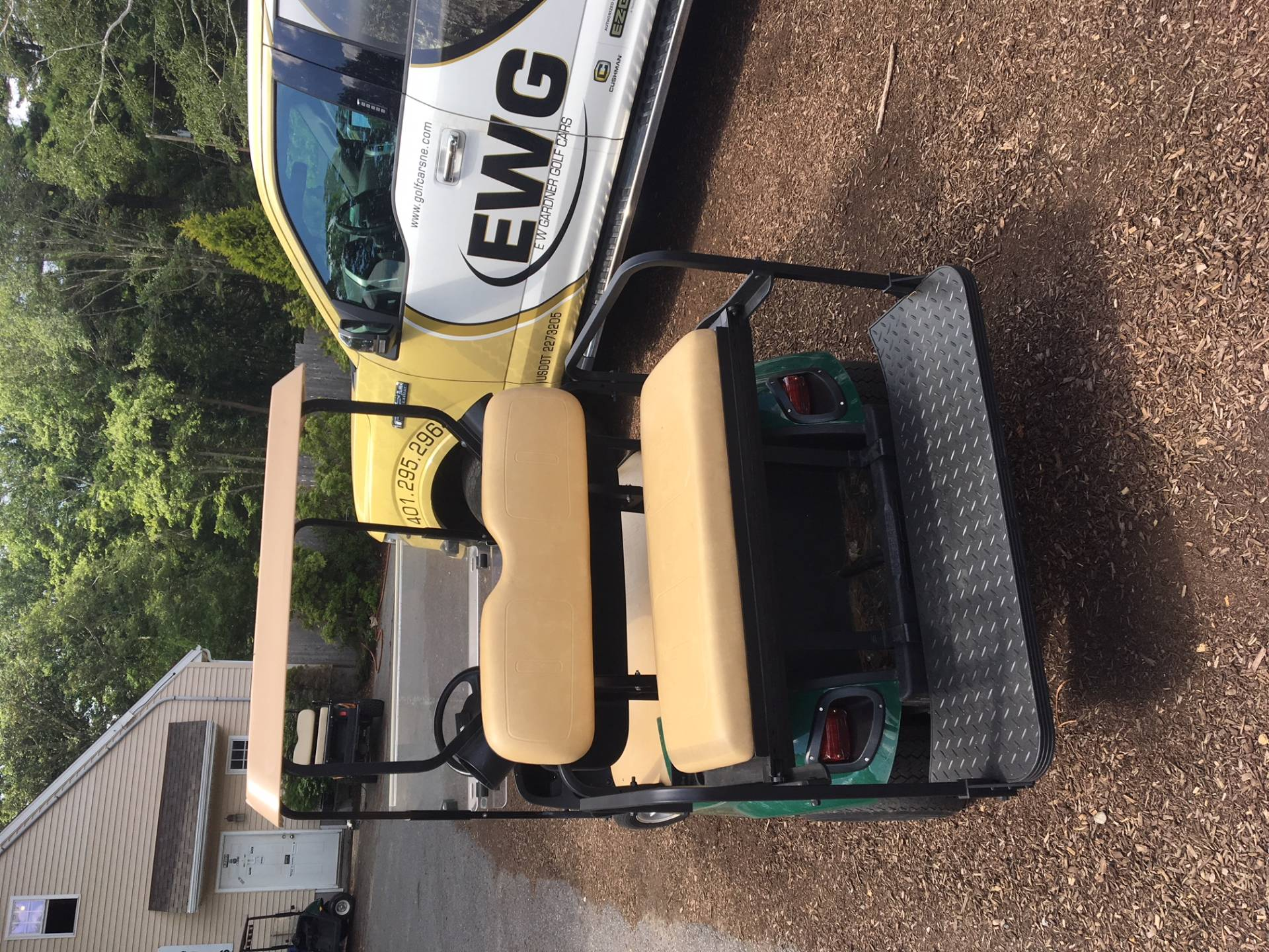 2015 E-Z-GO Shuttle 2 + 2 TXT Electric in Exeter, Rhode Island - Photo 4
