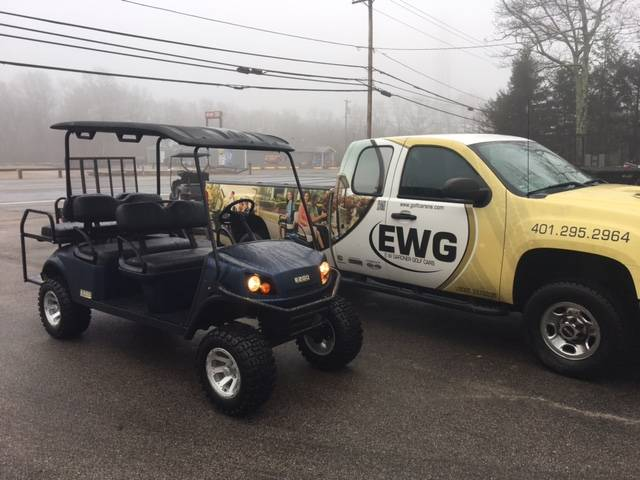 2018 E-Z-Go Express L6 Gas in Exeter, Rhode Island