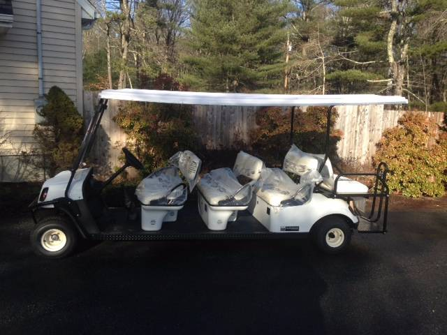 2016 Cushman Shuttle 8 Electric in Exeter, Rhode Island