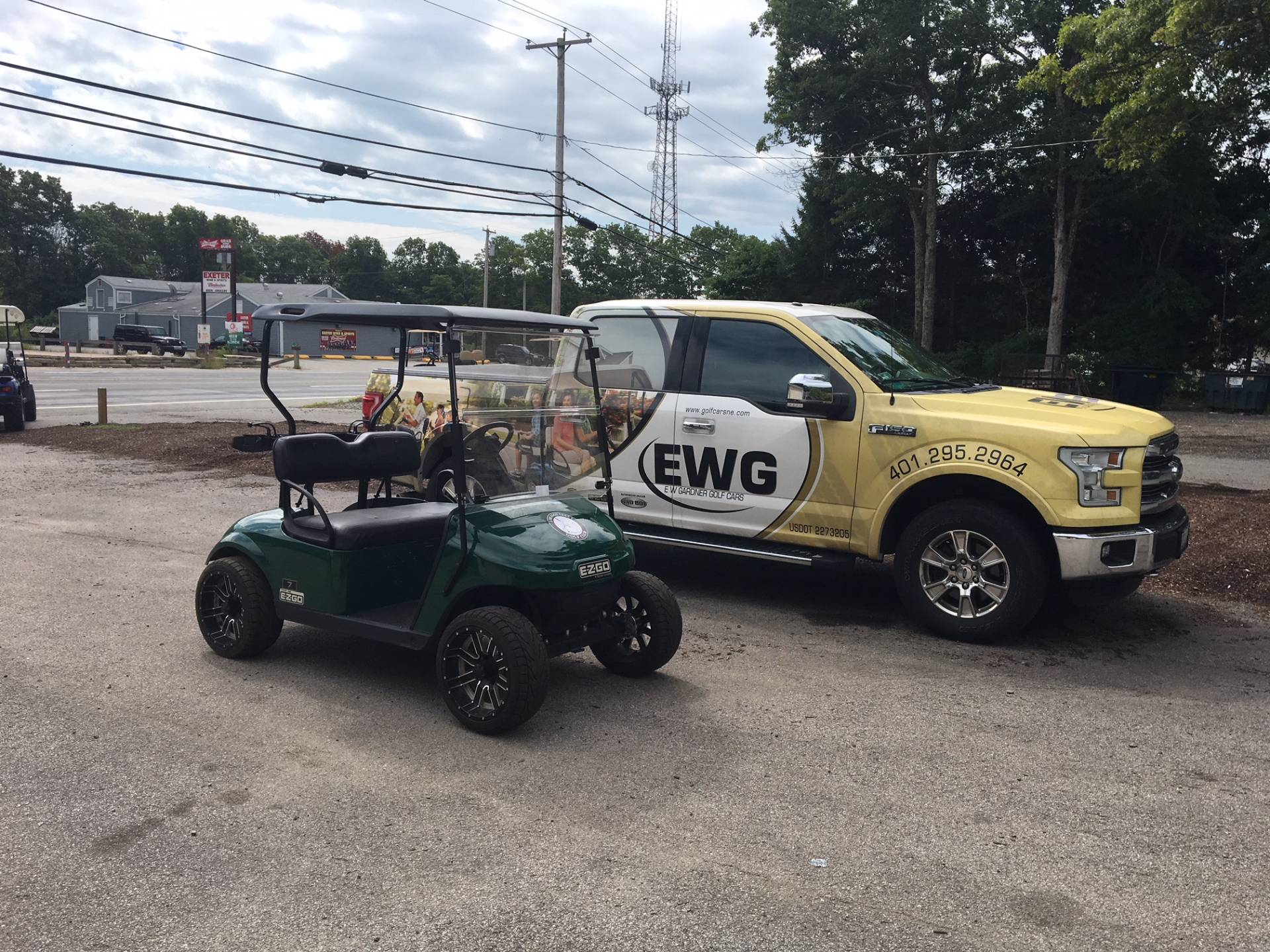 2015 E-Z-Go TXT Electric in Exeter, Rhode Island - Photo 4