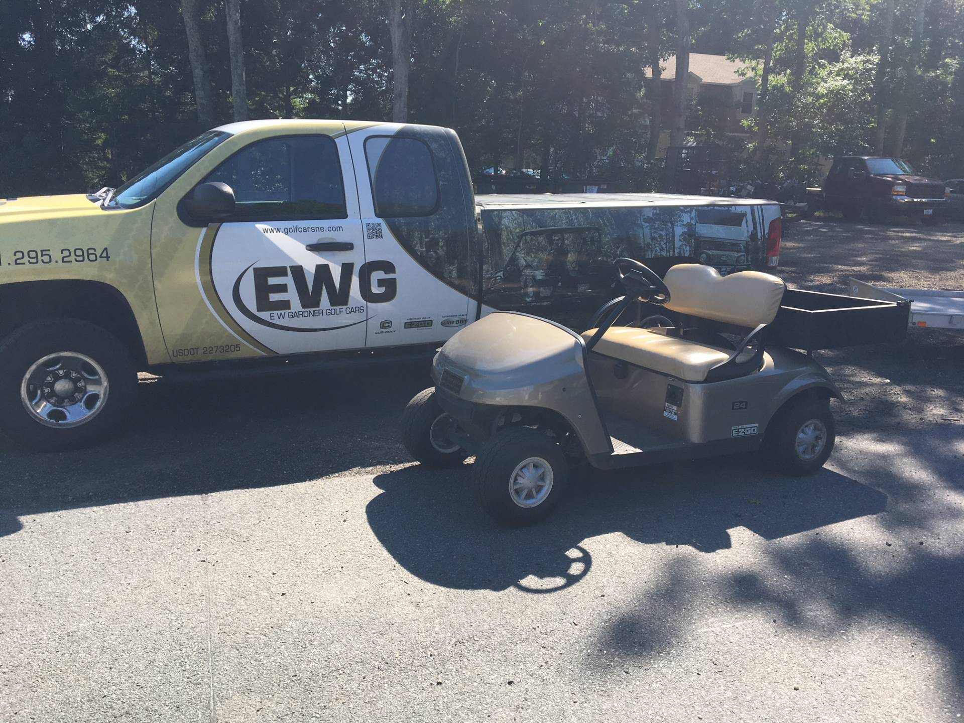 2014 E-Z-Go Freedom TXT Electric in Exeter, Rhode Island - Photo 1