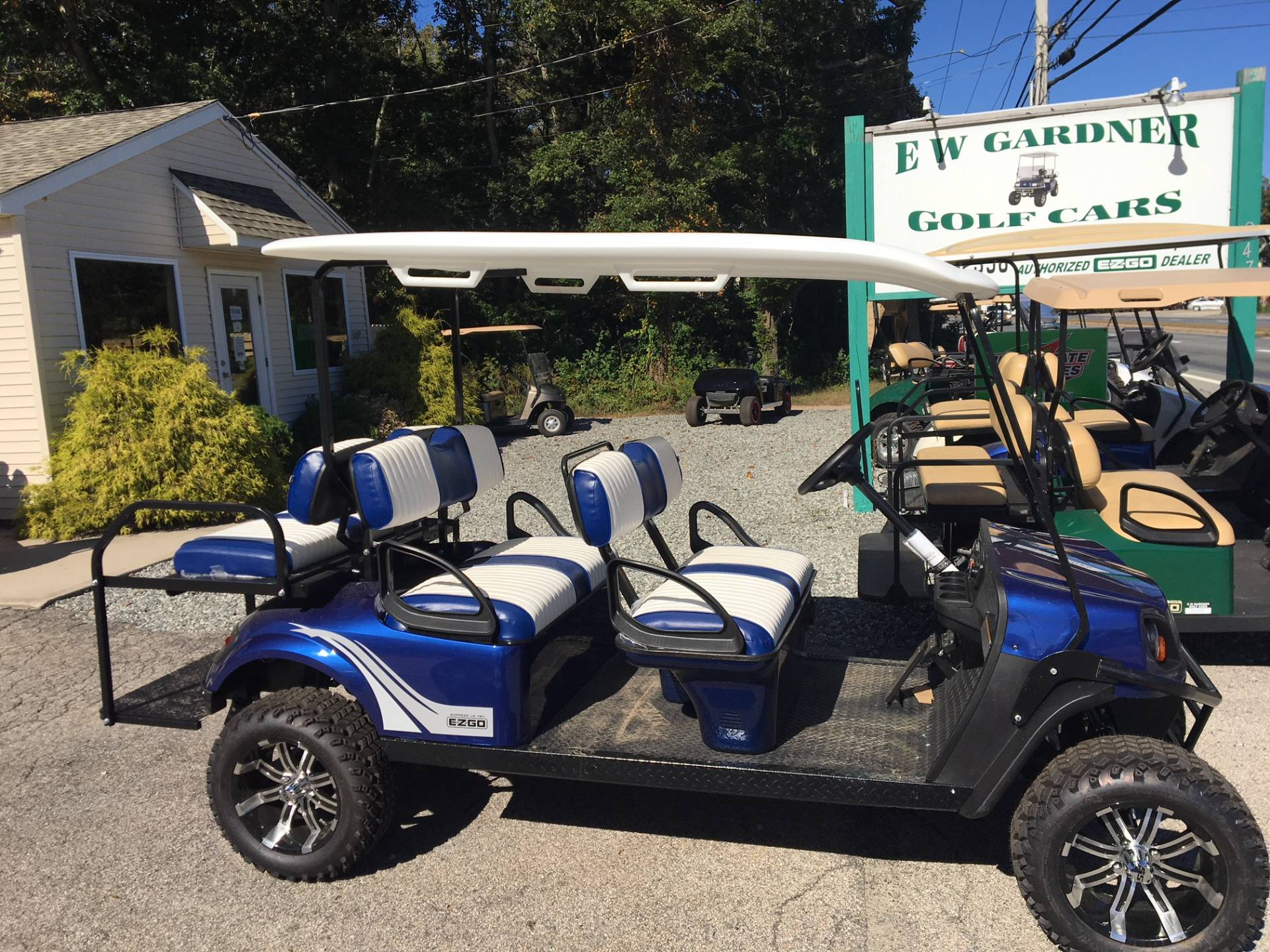 2019 E-Z-Go Express L6 Electric in Exeter, Rhode Island