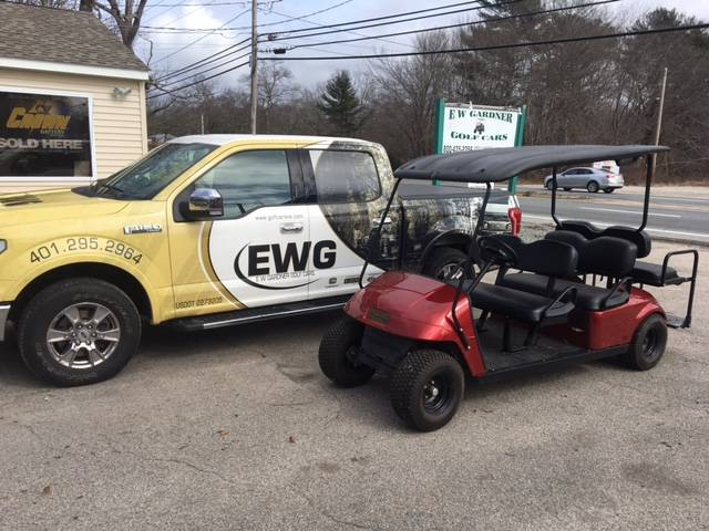 2013 E-Z-Go Express S6 Electric in Exeter, Rhode Island