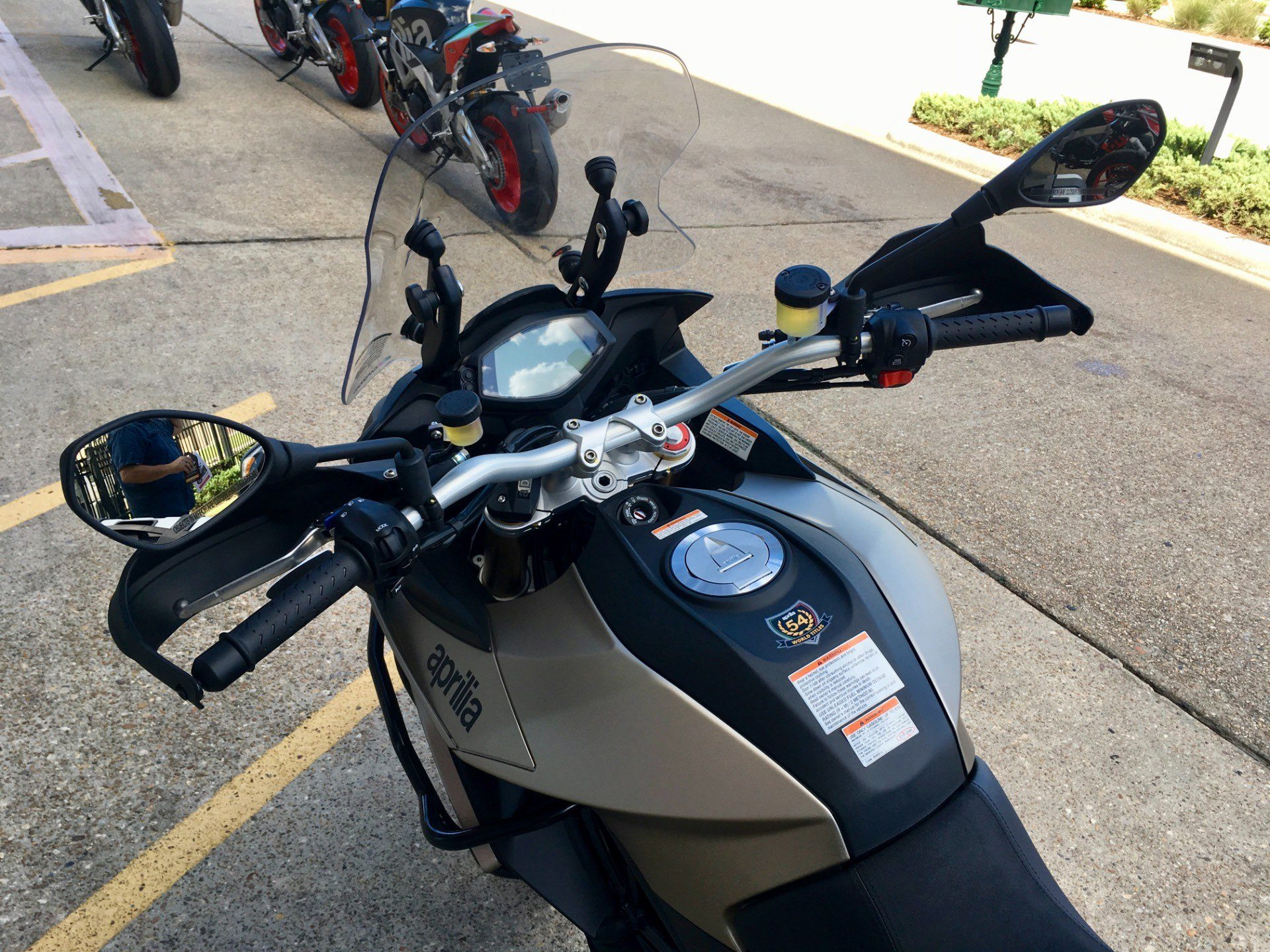 2017 Aprilia Caponord 1200 ABS Rally in Saint Rose, Louisiana