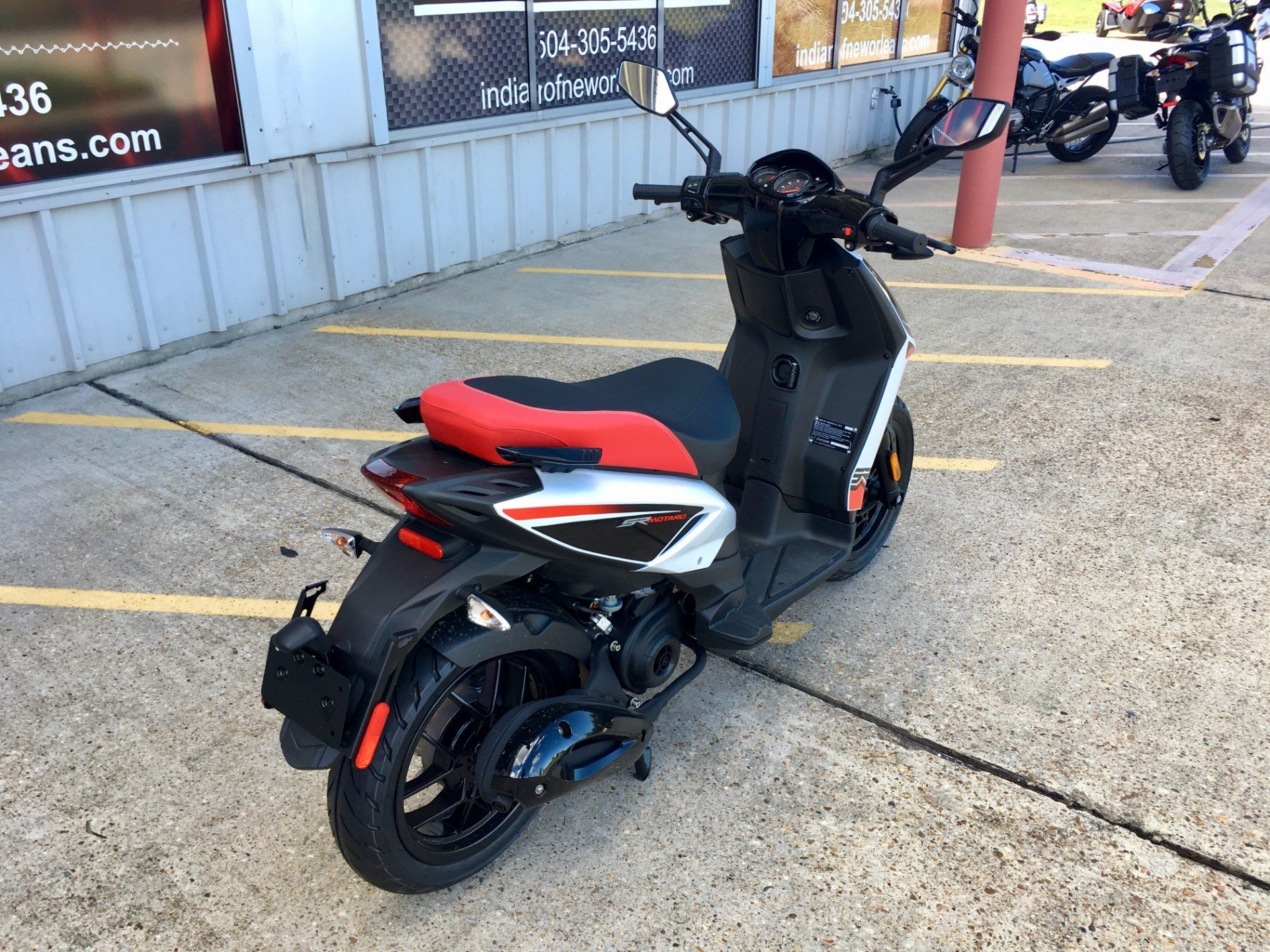 2017 Aprilia SR Motard 50 in Saint Rose, Louisiana