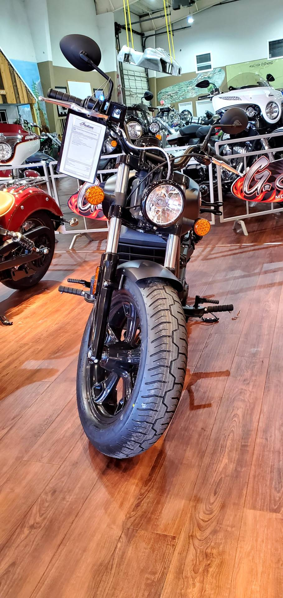 2021 Indian Scout® Bobber Sixty ABS in Saint Rose, Louisiana - Photo 2