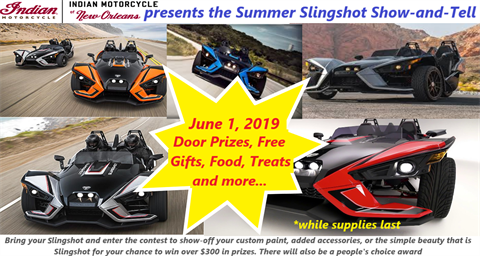Summer Slingshot Show-and-Tell