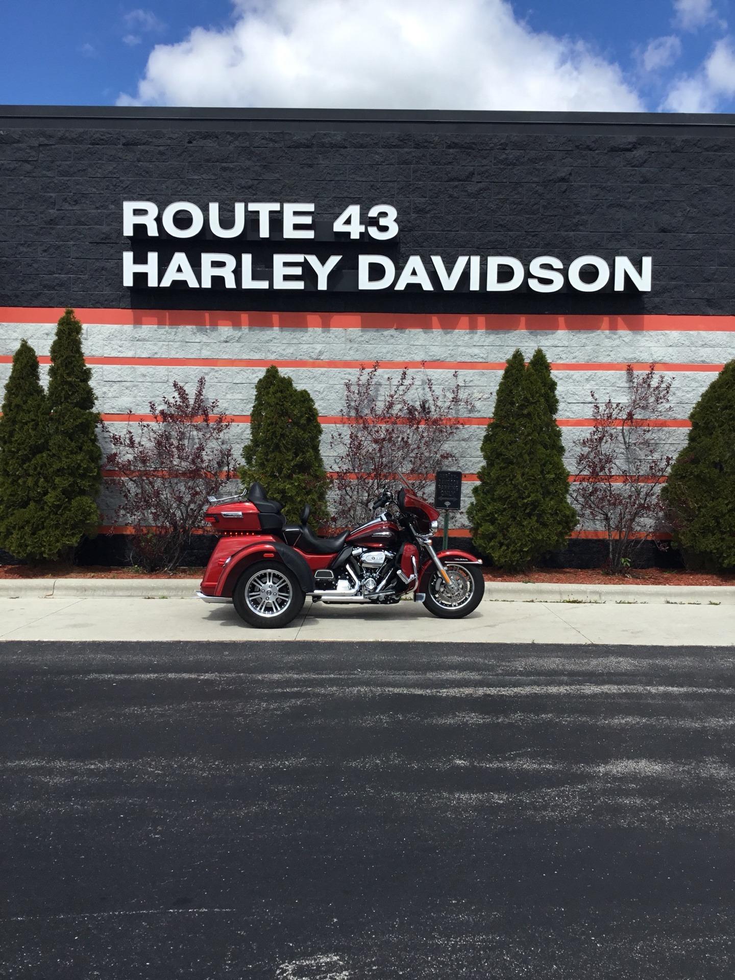 2018 Harley-Davidson Tri Glide® Ultra in Sheboygan, Wisconsin