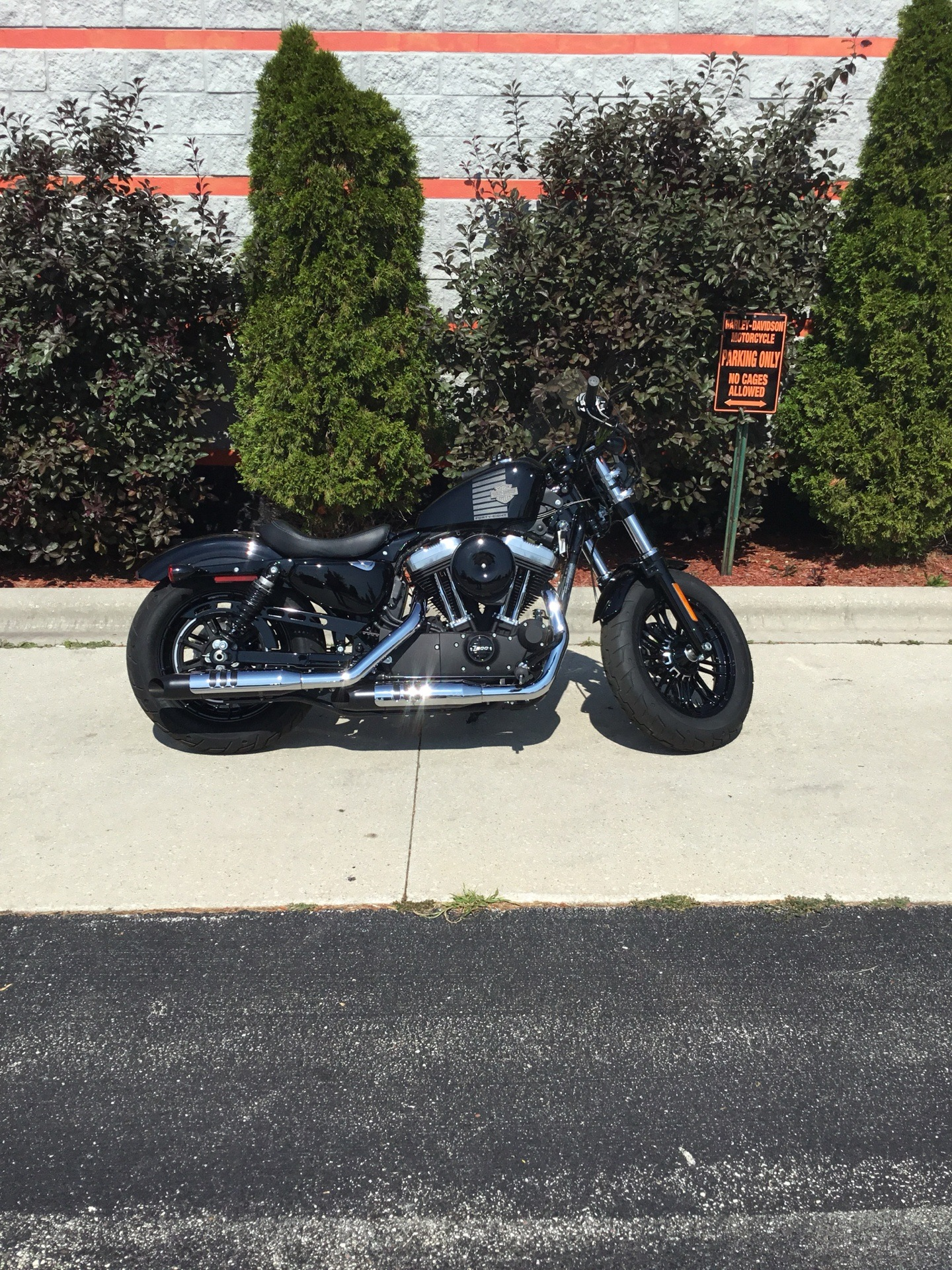 2017 Harley-Davidson Forty-Eight® in Sheboygan, Wisconsin - Photo 2