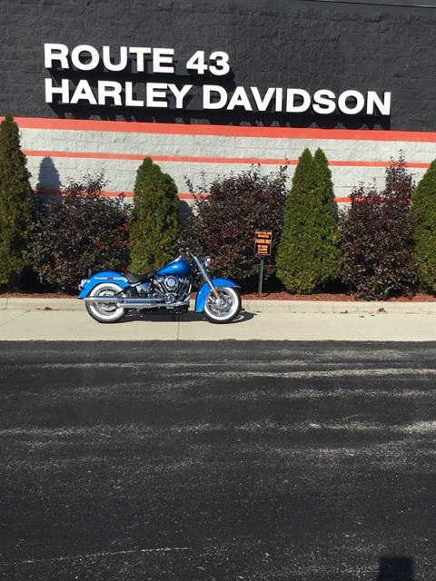 2018 Harley-Davidson Softail® Deluxe 107 in Sheboygan, Wisconsin - Photo 1