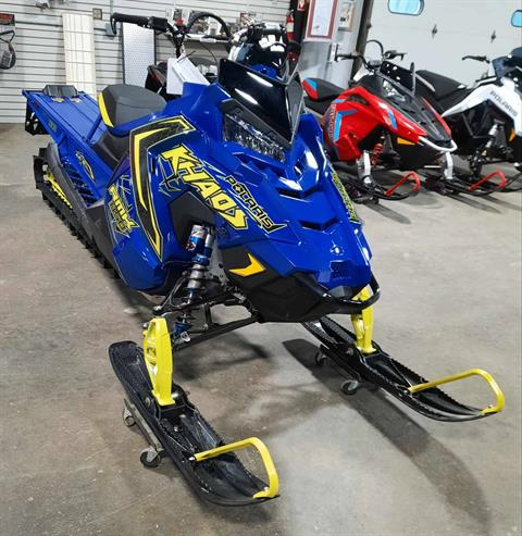 2021 Polaris 850 RMK KHAOS 163 2.6 in. Factory Choice in Devils Lake, North Dakota - Photo 1
