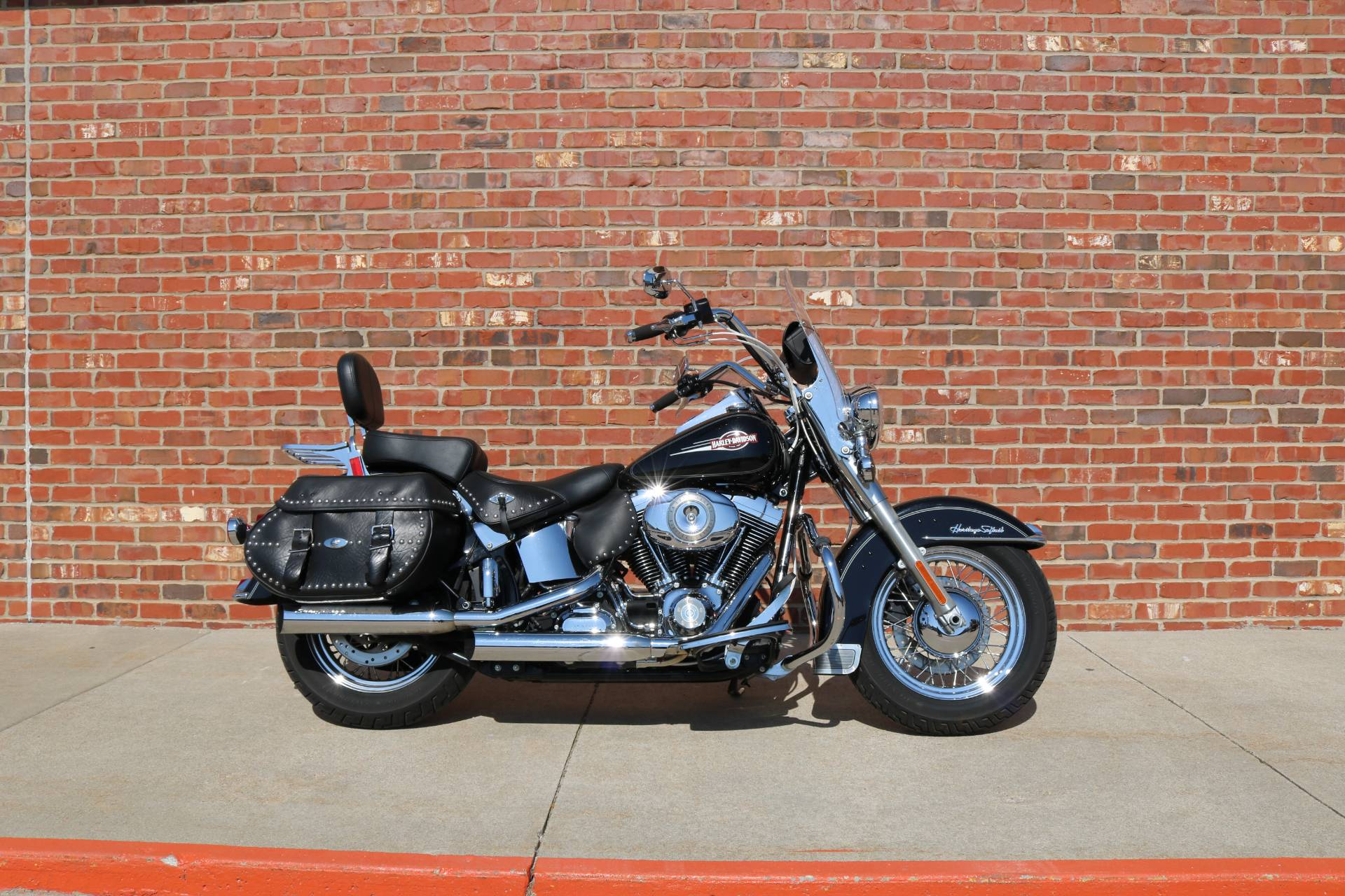 2007 Harley-Davidson FLSTC Heritage Softail® Classic Patriot Special Edition in Ames, Iowa - Photo 1