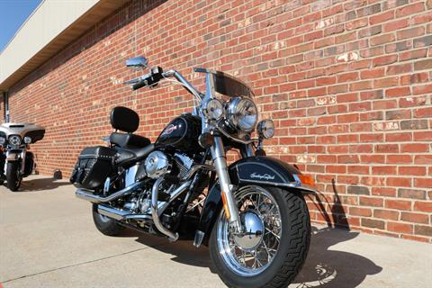 2007 Harley-Davidson FLSTC Heritage Softail® Classic Patriot Special Edition in Ames, Iowa - Photo 2