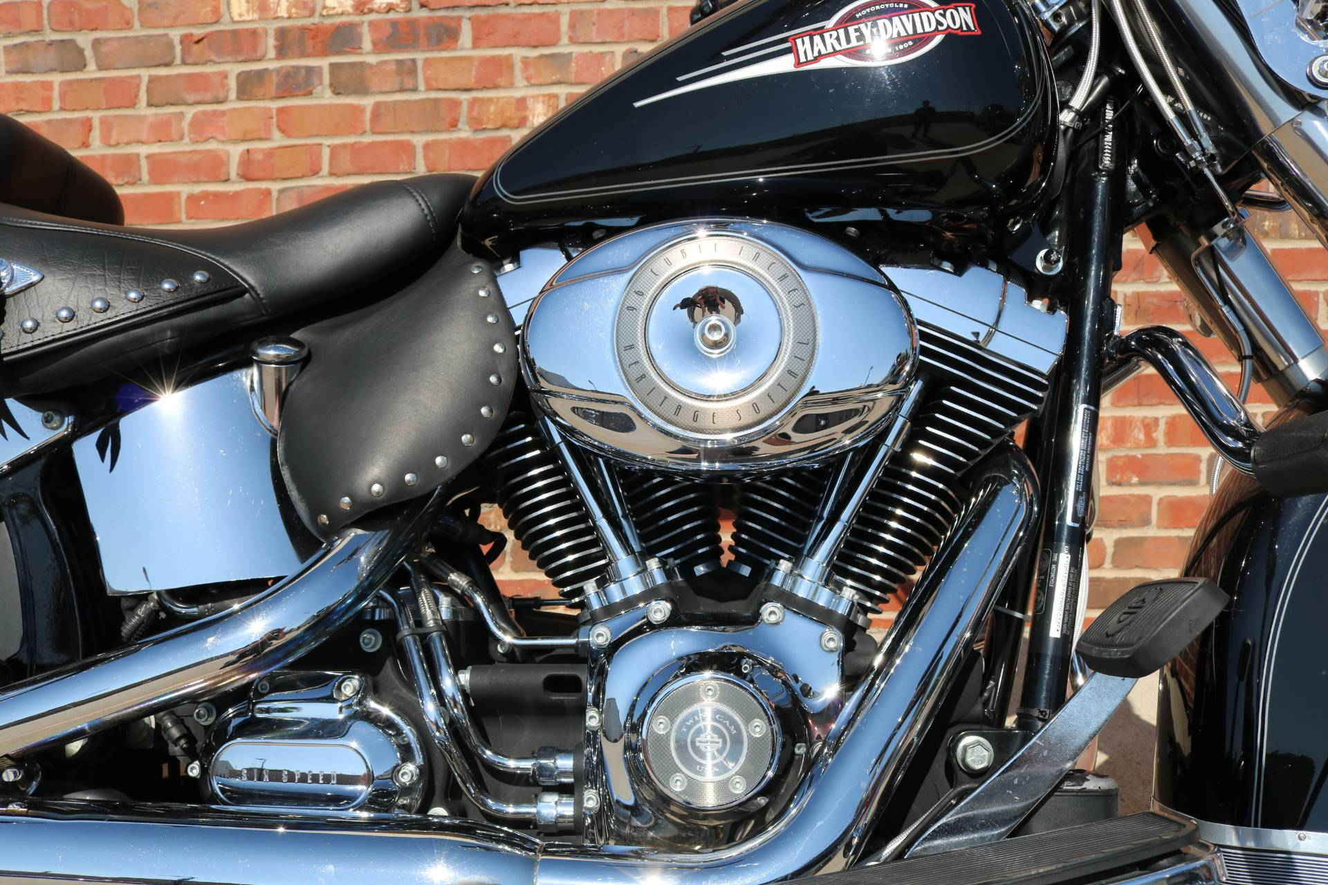 2007 Harley-Davidson FLSTC Heritage Softail® Classic Patriot Special Edition in Ames, Iowa - Photo 4