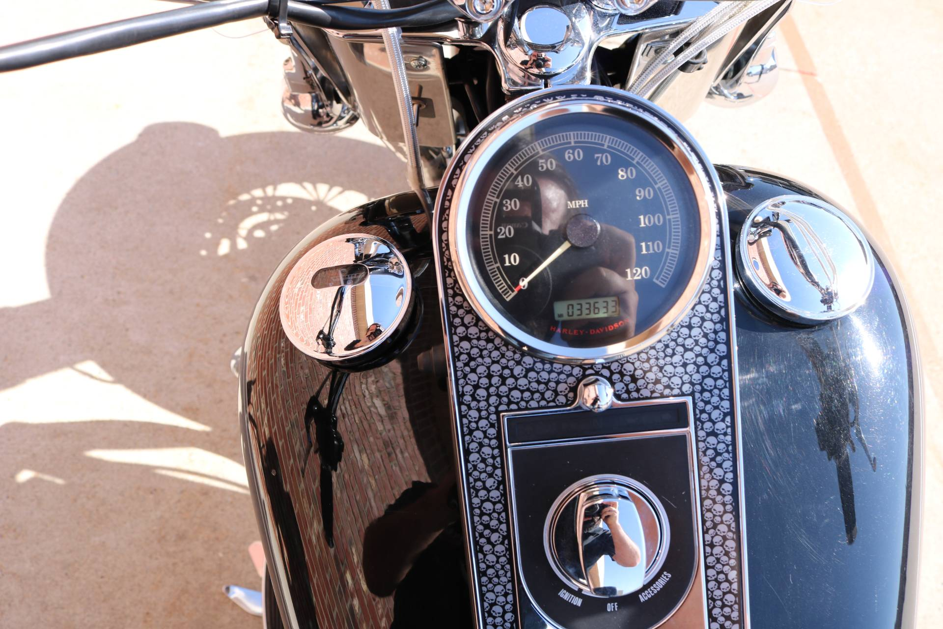 2007 Harley-Davidson FLSTC Heritage Softail® Classic Patriot Special Edition in Ames, Iowa - Photo 7