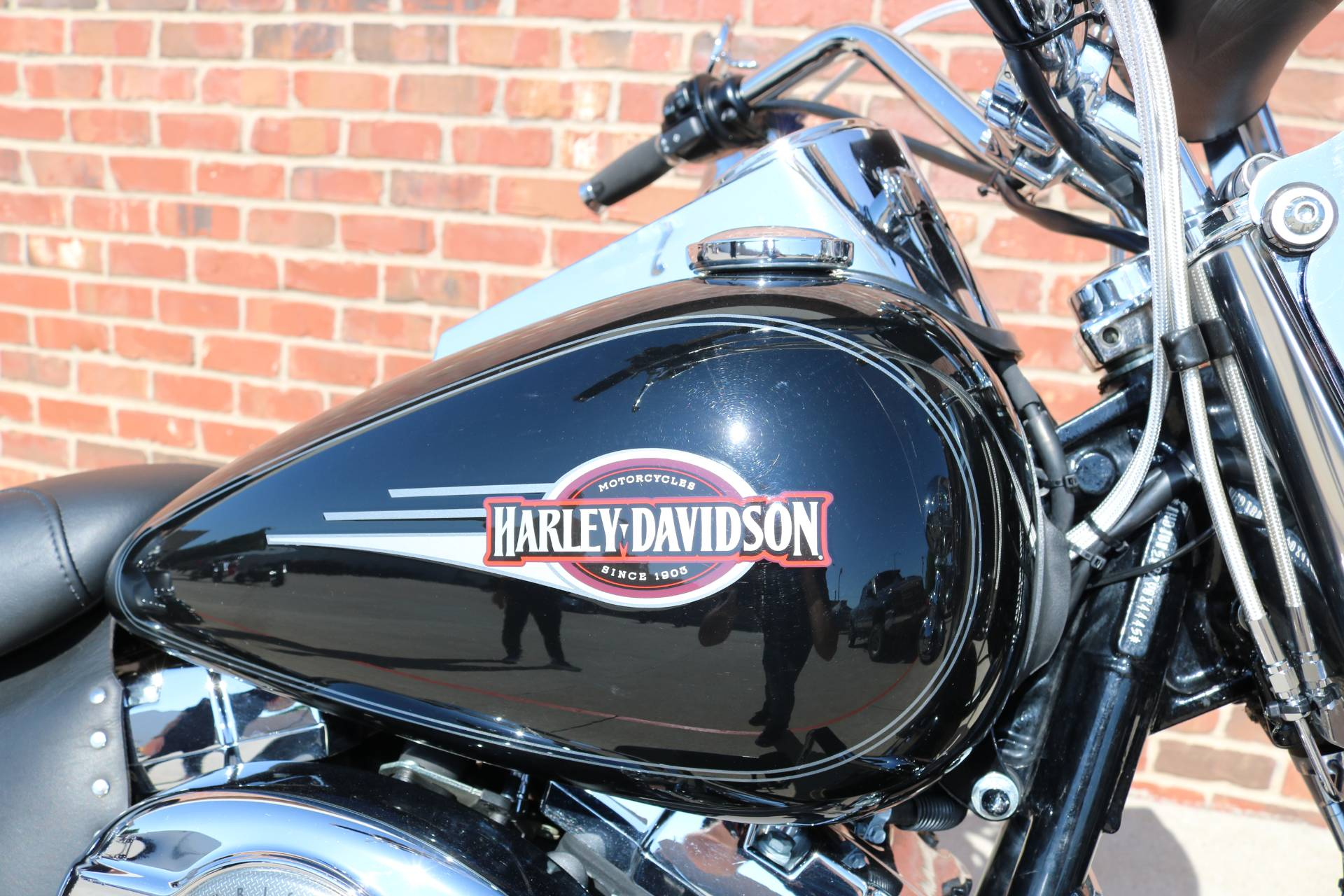 2007 Harley-Davidson FLSTC Heritage Softail® Classic Patriot Special Edition in Ames, Iowa - Photo 9