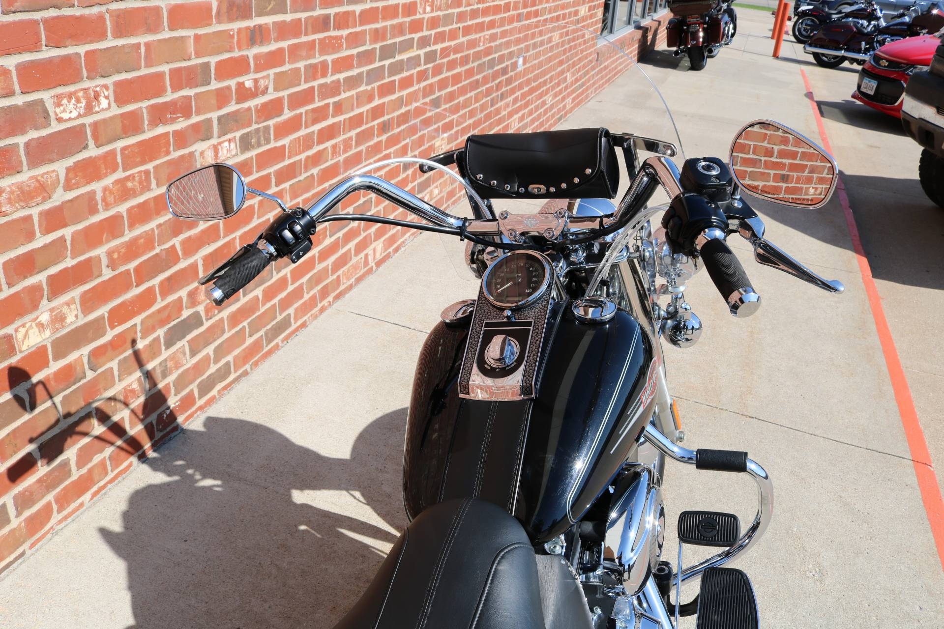2007 Harley-Davidson FLSTC Heritage Softail® Classic Patriot Special Edition in Ames, Iowa - Photo 10