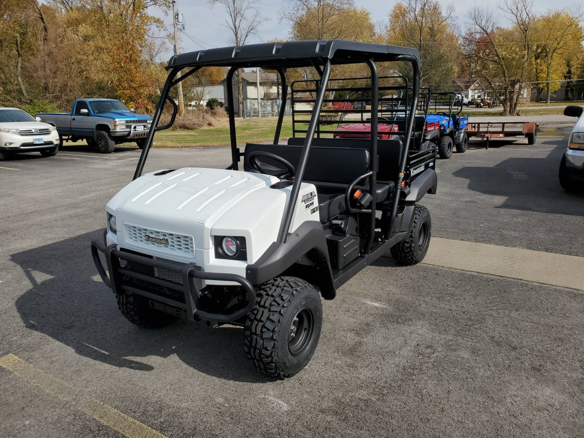 2021 Kawasaki Mule 4010 Trans4x4 FE in Herrin, Illinois - Photo 1