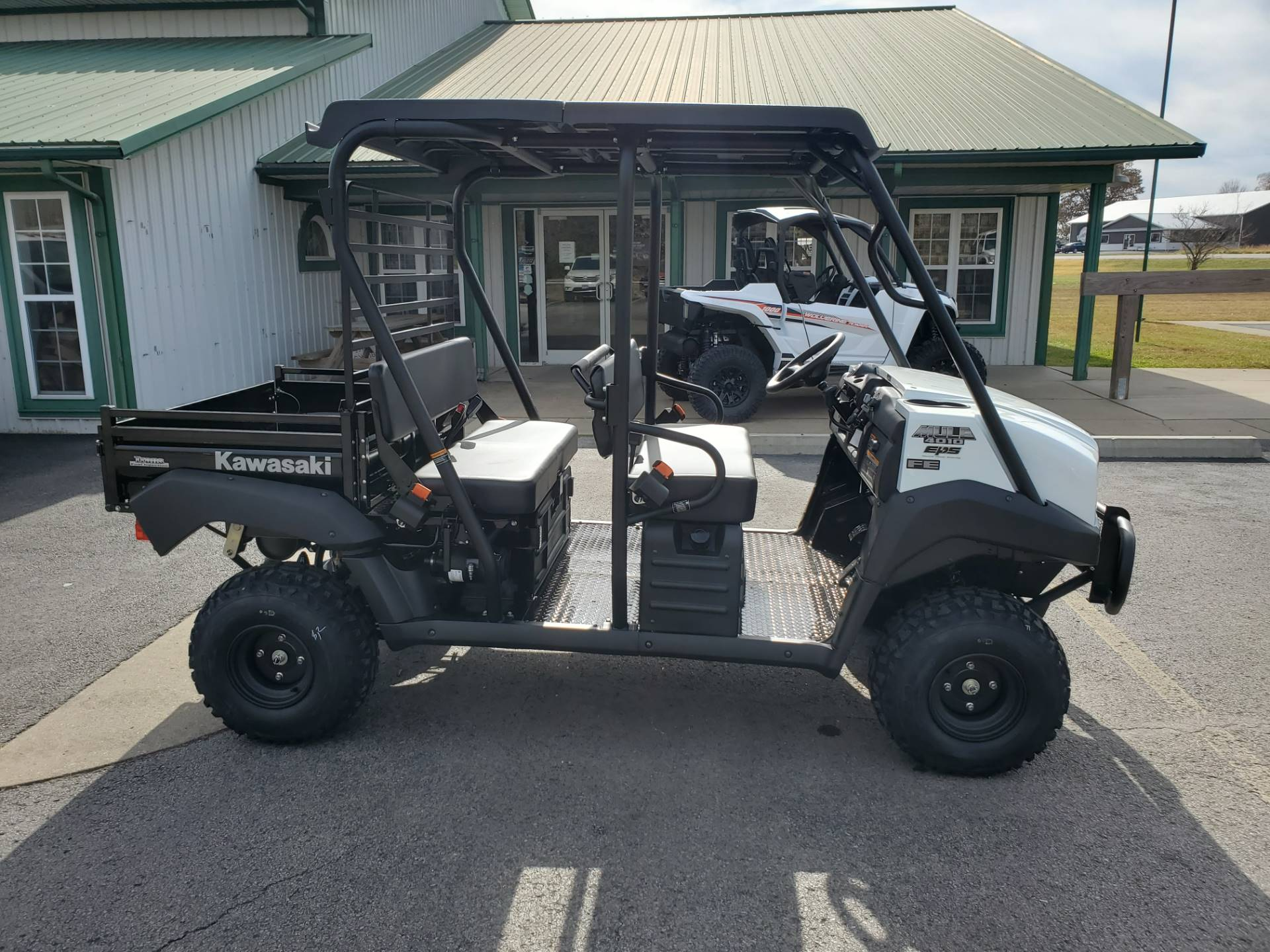 2021 Kawasaki Mule 4010 Trans4x4 FE in Herrin, Illinois - Photo 4