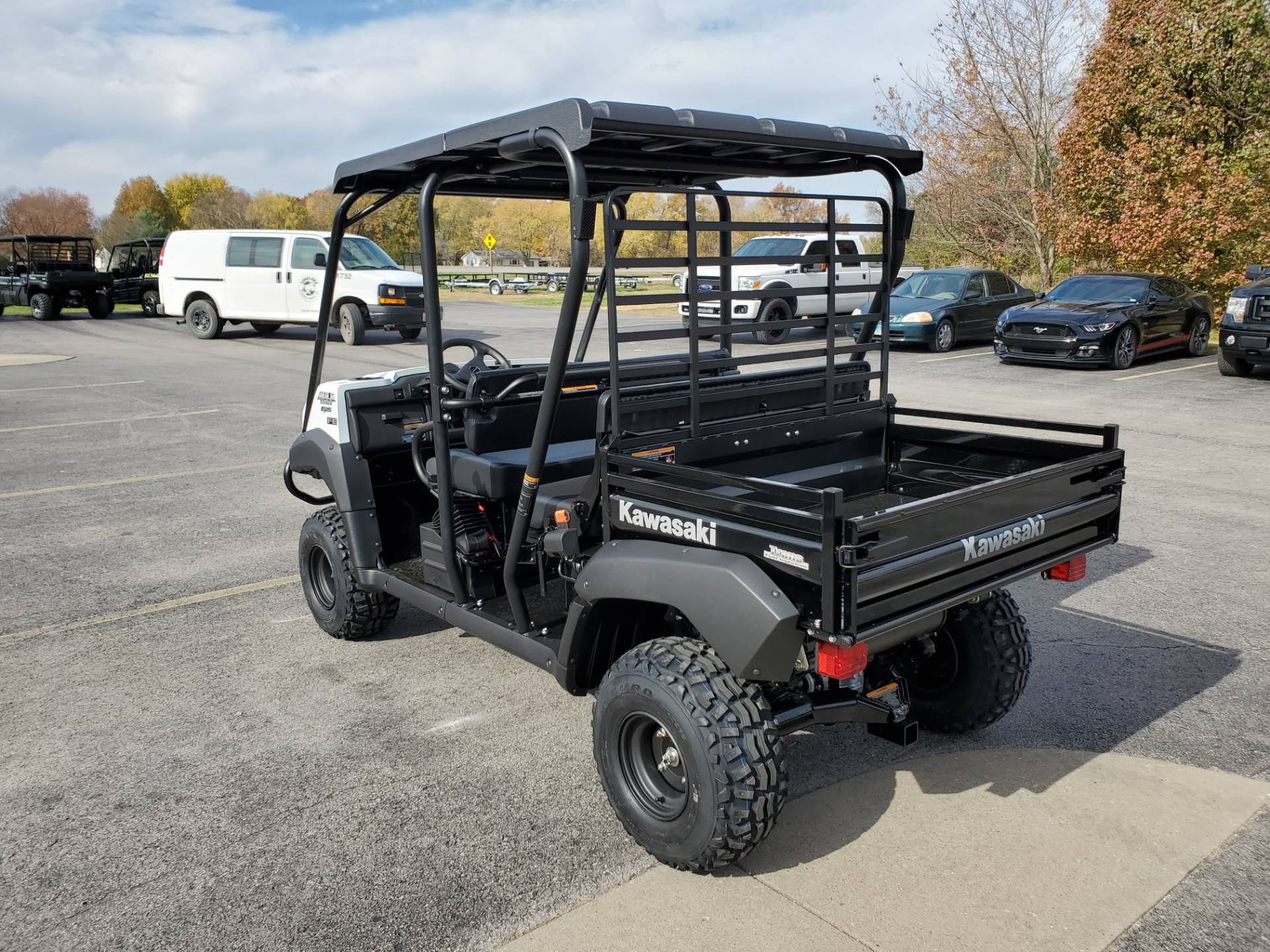 2021 Kawasaki Mule 4010 Trans4x4 FE in Herrin, Illinois - Photo 7