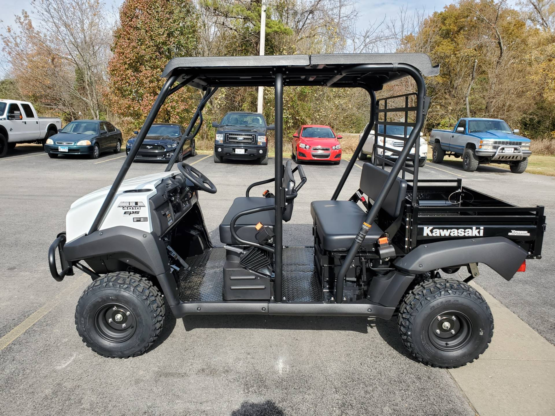 2021 Kawasaki Mule 4010 Trans4x4 FE in Herrin, Illinois - Photo 8