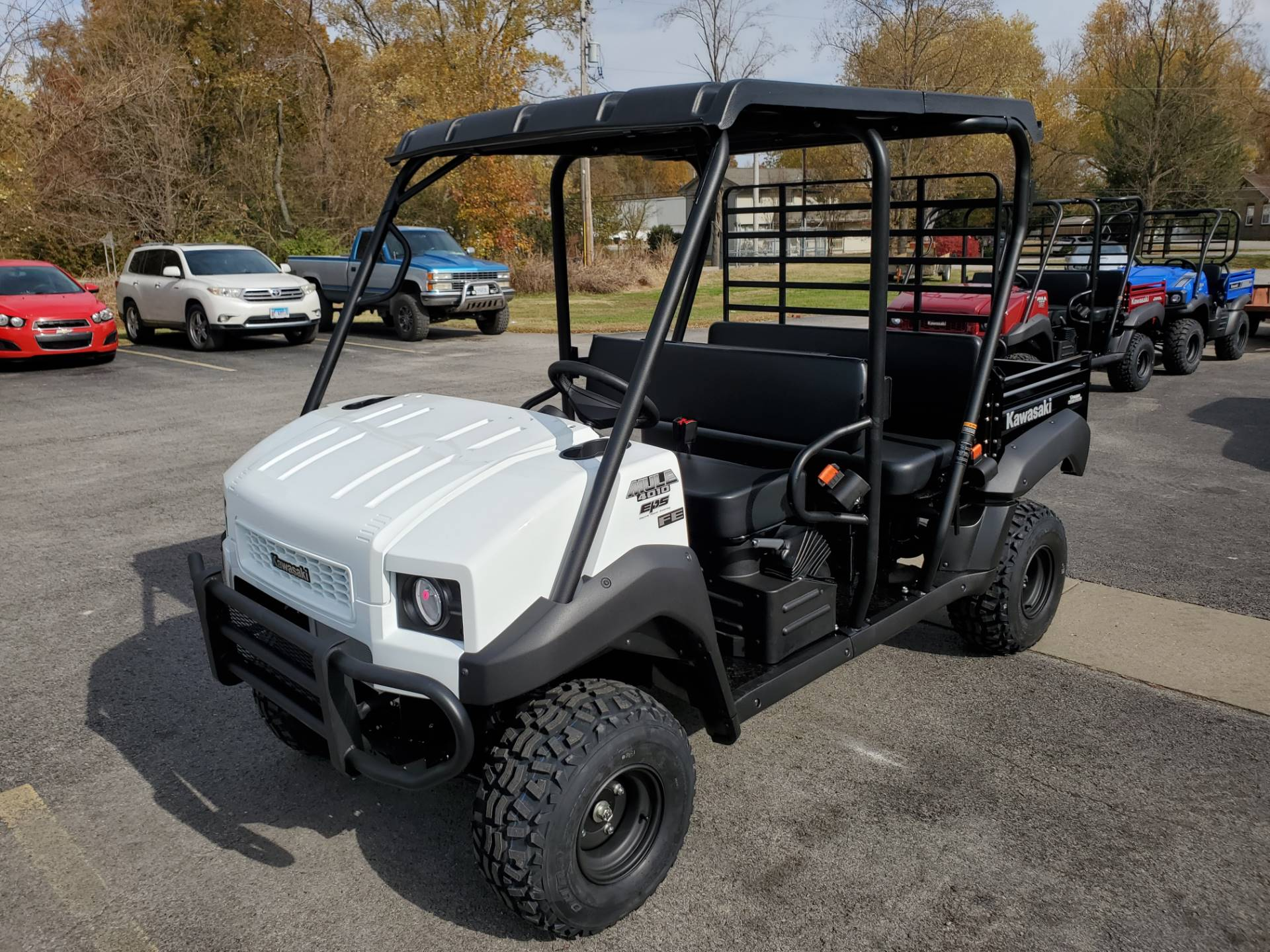 2021 Kawasaki Mule 4010 Trans4x4 FE in Herrin, Illinois - Photo 9