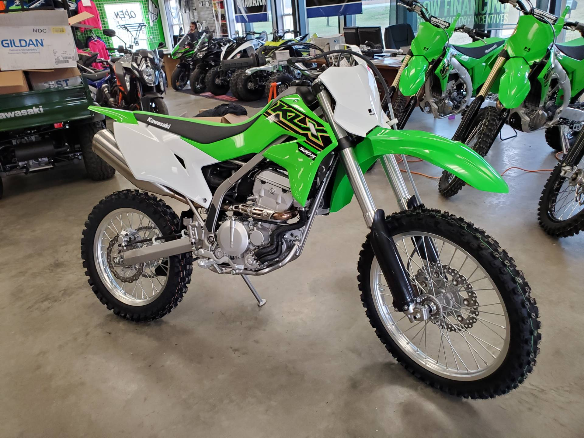 2021 Kawasaki KLX 300R in Herrin, Illinois - Photo 1
