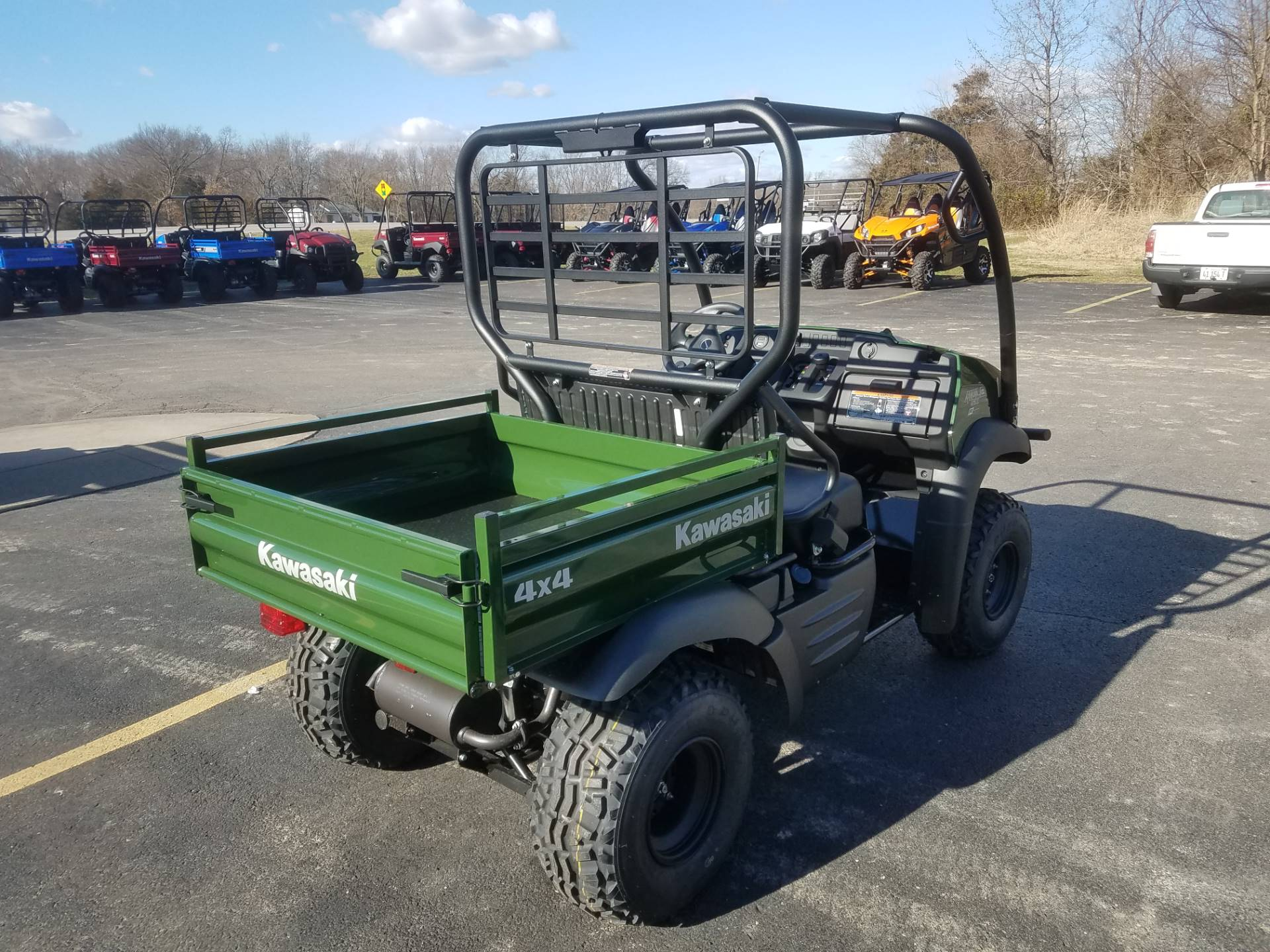 2020 Kawasaki Mule SX 4x4 FI in Herrin, Illinois - Photo 4