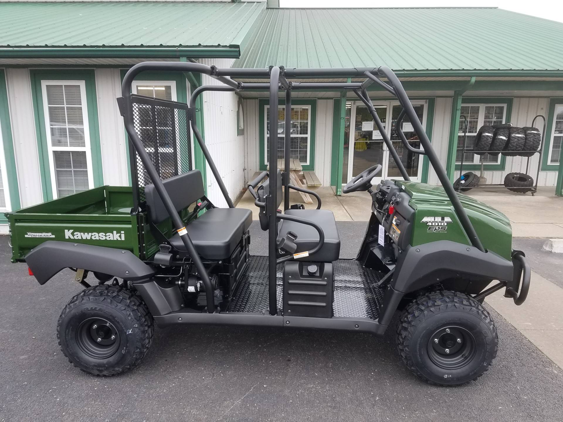 2020 Kawasaki Mule 4010 Trans4x4 in Herrin, Illinois - Photo 4