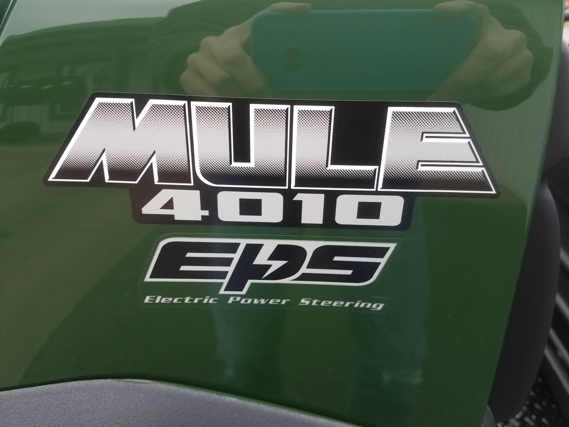 2020 Kawasaki Mule 4010 Trans4x4 in Herrin, Illinois - Photo 11