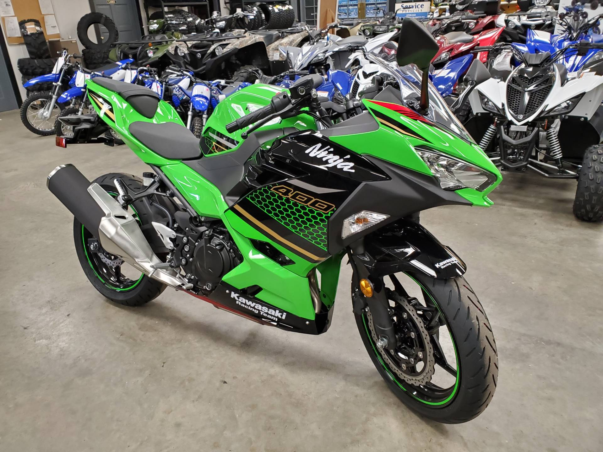 2020 Kawasaki Ninja 400 KRT Edition in Herrin, Illinois - Photo 1