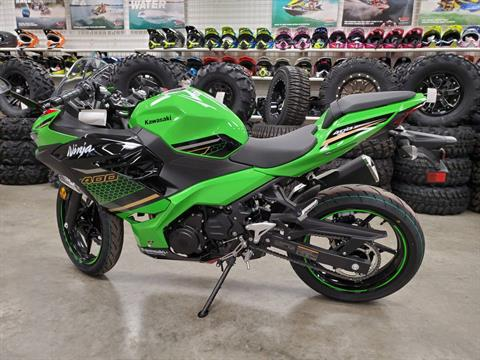 2020 Kawasaki Ninja 400 KRT Edition in Herrin, Illinois - Photo 4